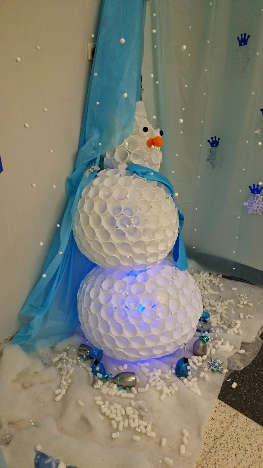Frozen Themed Christmas Decorations
