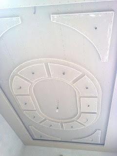 أسقف جبس بورد للصالات الأكثر إبداعاً لديكور منزلك - أرابيسك ستايل