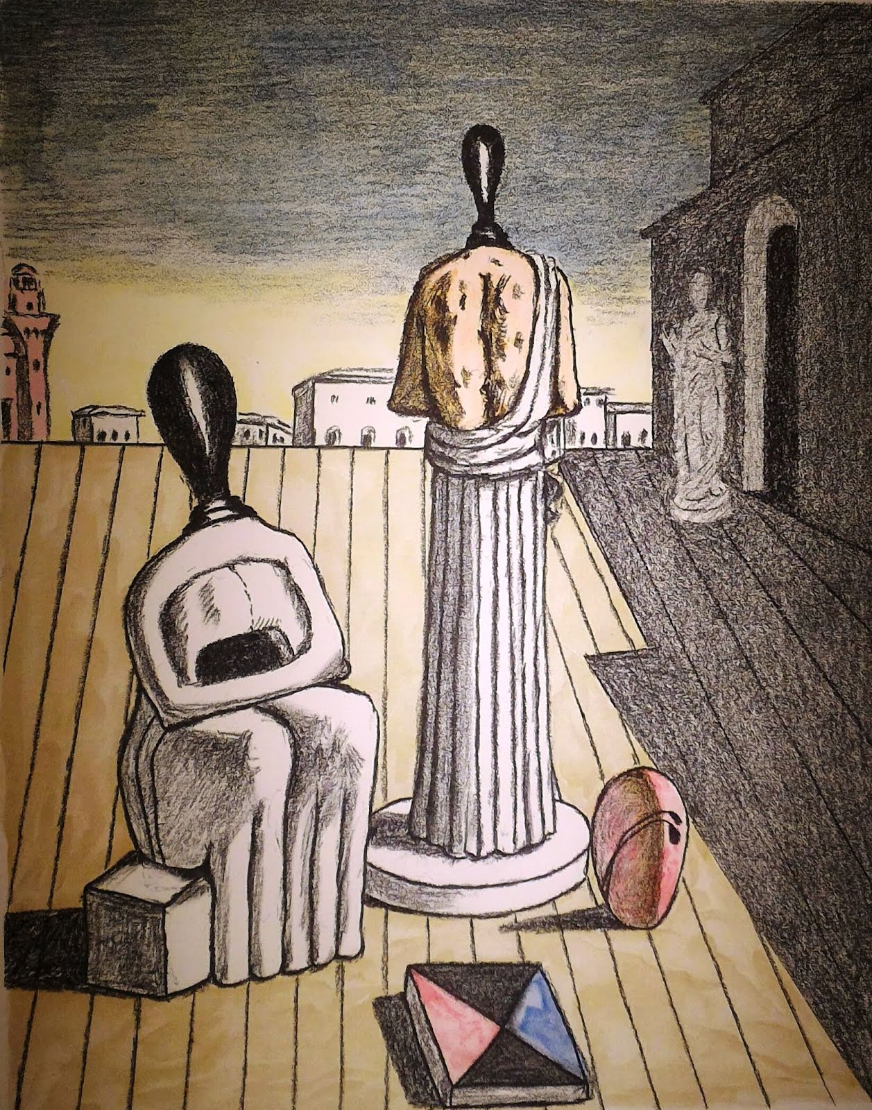 giorgio de chirico, tra metafisica e cultura classica