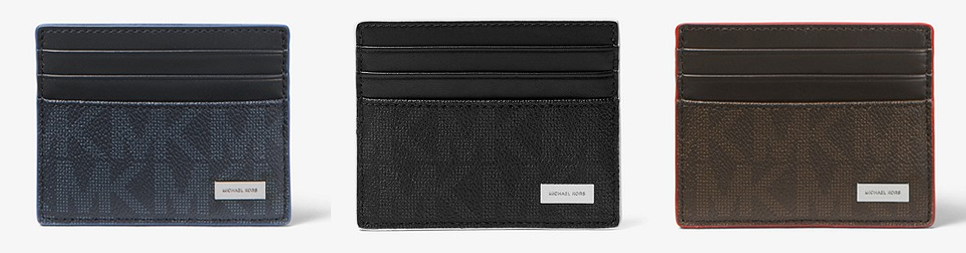 92310ef8a225 Michael Kors offers an extra 25% off already-reduced styles. Prices as  Marked. This MICHAEL KORS MENS Jet Set Tall Logo Card Case is on sale for   18 (Reg.