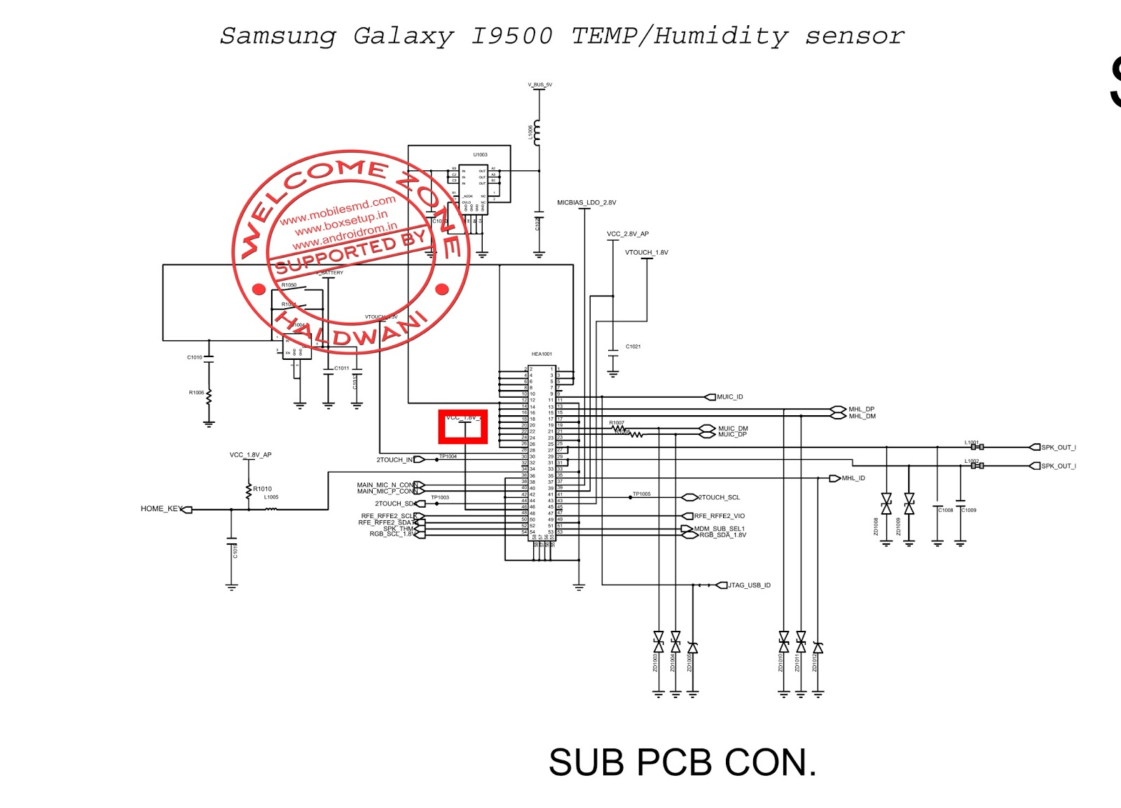 Samsung galaxy S4 I9500 TEMP Humidity sensor Not Working