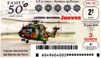 decimos loteria nacional jueves 23 junio 2016