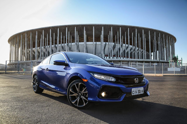 Honda Civic Si Brilliant Sporty Blue Metallic - Mané Garrincha - Brasilia