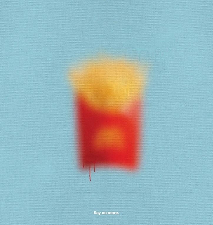 creativa-campaña-grafica-mcdonalds-productos-difuminados