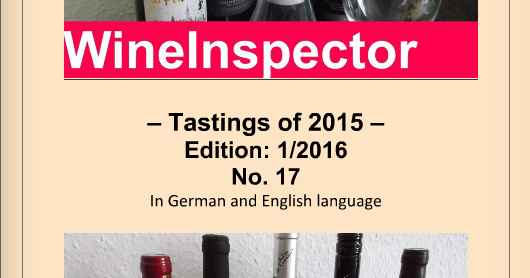 WineInspector Magazine 2016 Edition including all the tastings of 2015