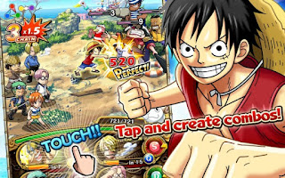Game ONE PIECE TREASURE CRUISE Apk For Android Free Download Terbaru 2017