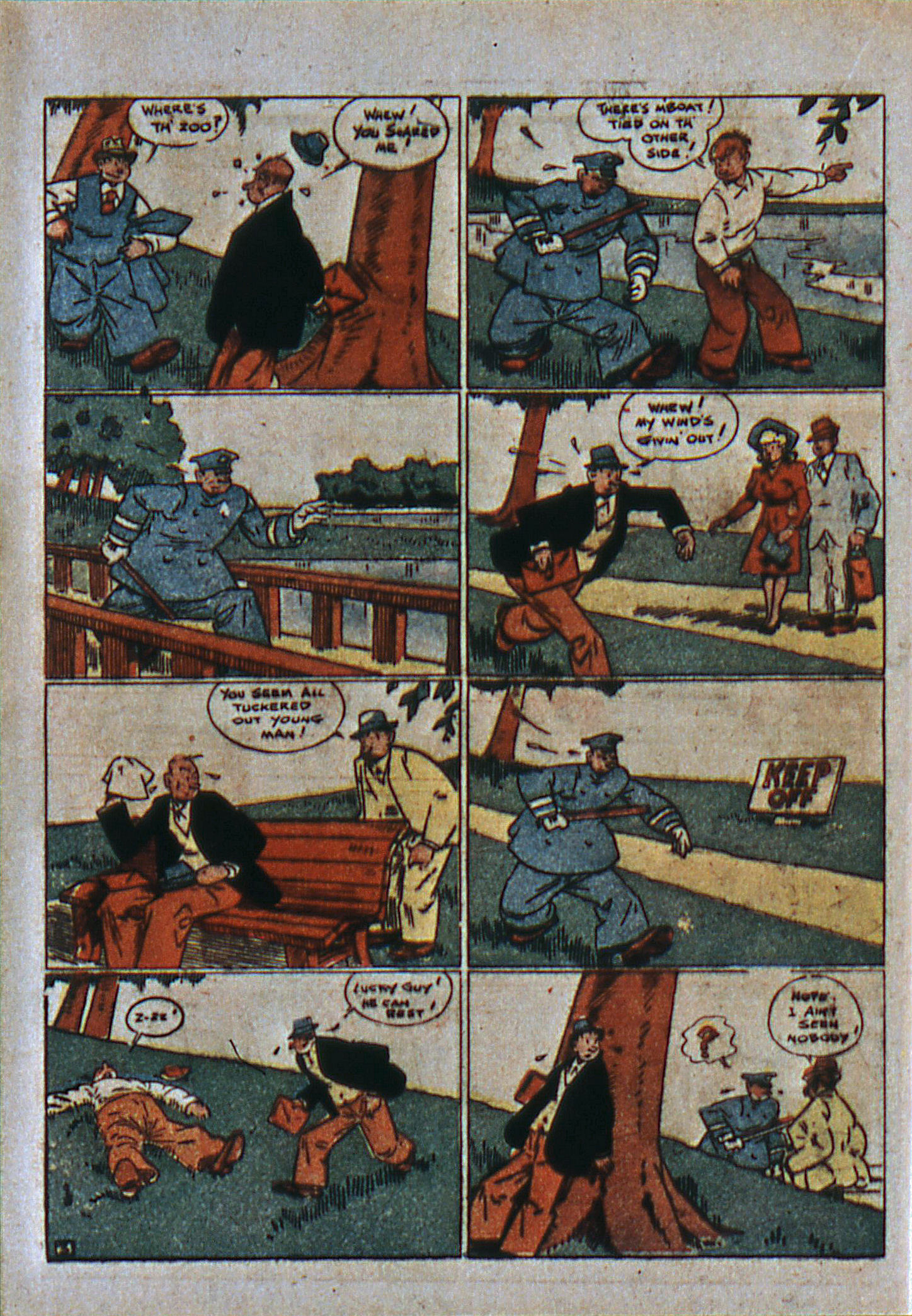 Read online Action Comics (1938) comic -  Issue #6 - 29