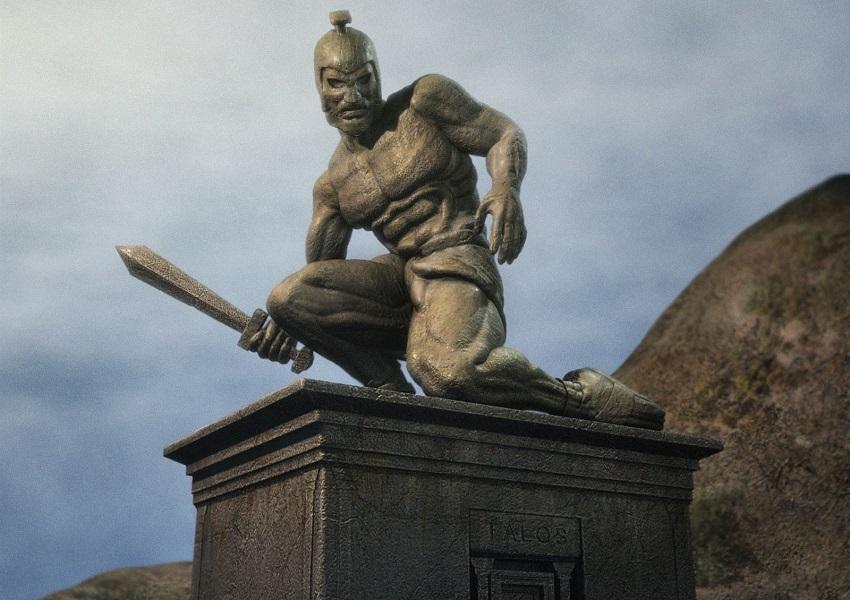 Talos, o Gigante de Bronze Protetor de Creta