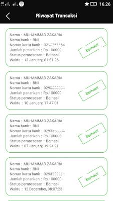 Bukti Pembayaran Uang Gratis Terbaru dari Aplikasi News Cat