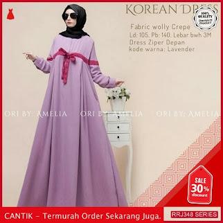 Jual RRJ348D103 Dress Korean Dress Wanita Vg Terbaru Trendy BMGShop