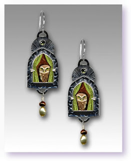 Wise Old Owl Earrings