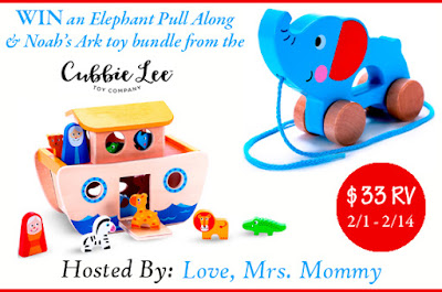 Enter the Cubbie Lee Toy Bundle Giveaway. Ends 2/14