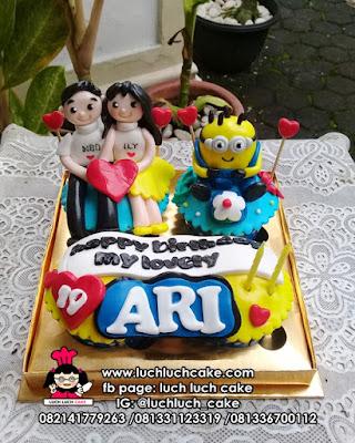 Cupcake Ulang Tahun Minion