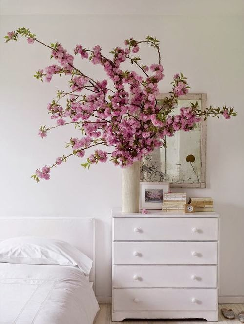 flowers in bedroom