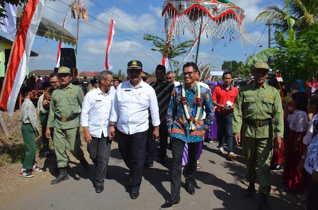 Plt. Sekda Sambut Tim Penilai Lomba Desa Tingkat Provinsi Jatim
