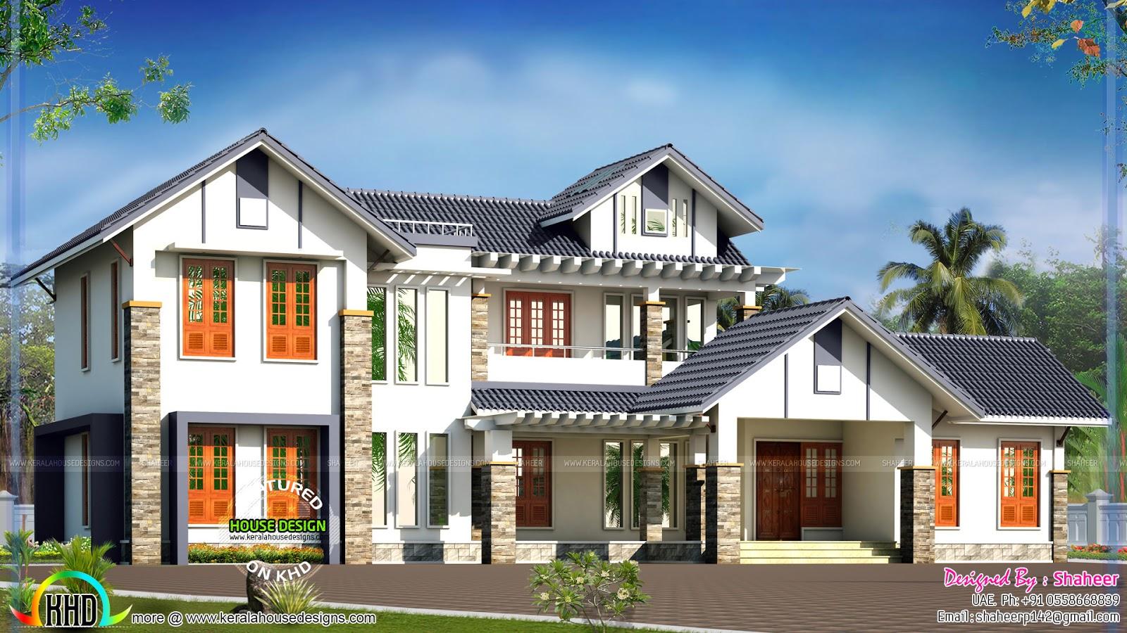 Best uae home design gallery interior design ideas for Modern house uae