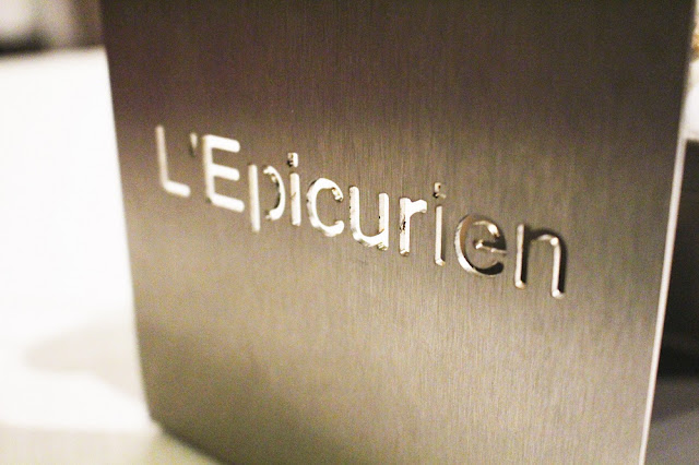 Dinner at L'Epicurien, Michelin-starred restaurant, Val Thorens - travel and lifestyle blog