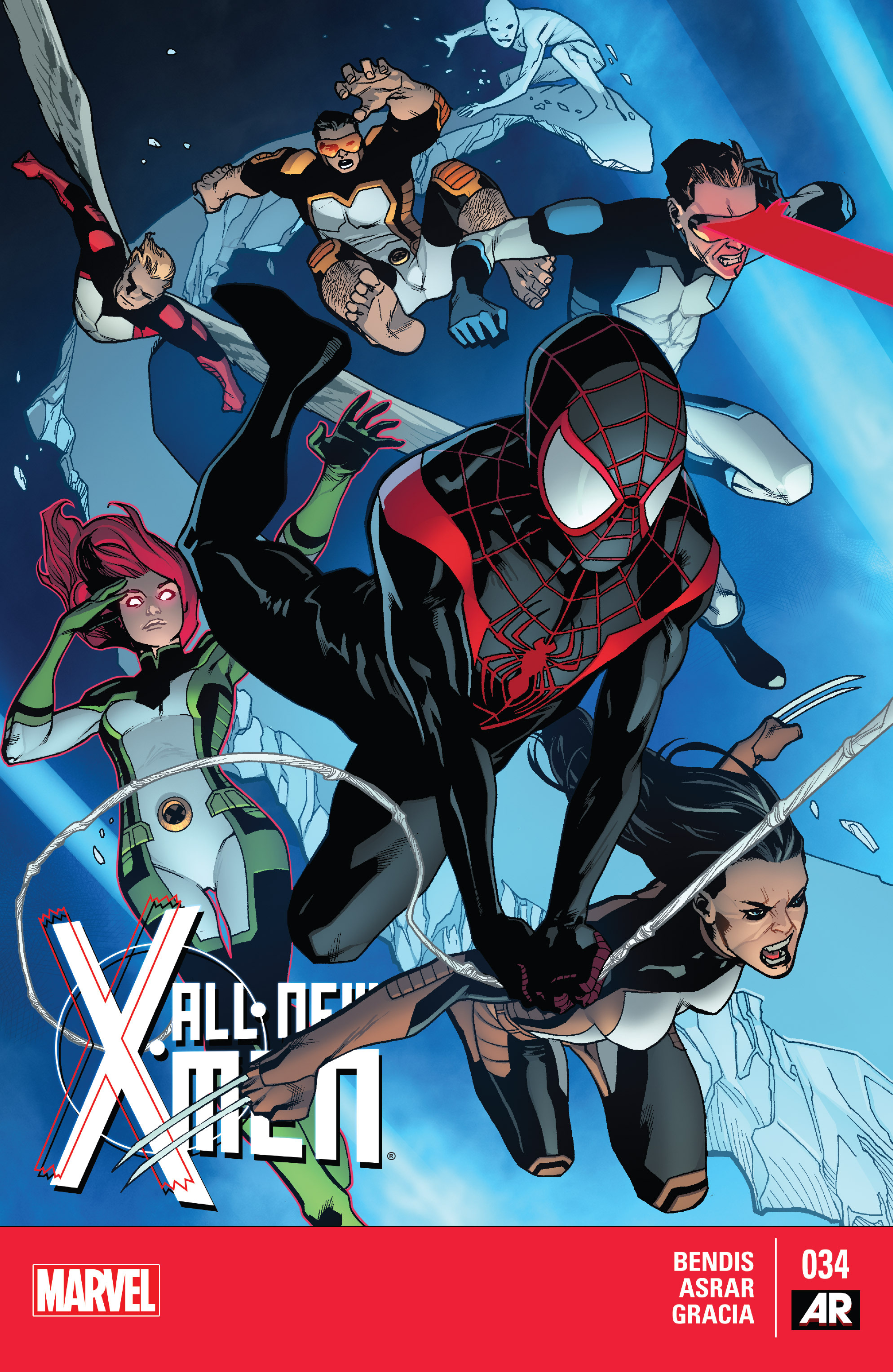 Read online All-New X-Men (2013) comic -  Issue #34 - 1