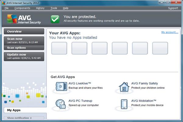 avg internet security 2012 serial key