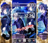 5 - Black Bullet Plus Home Theme for Android