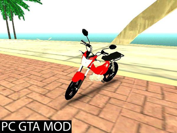 Free Download  Shineray-160  Mod for GTA San Andreas.