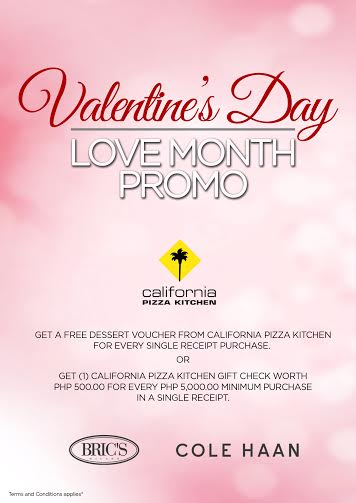 c9d6d0463eb Bric's, Cole Haan, Oilily, InCase, Versace Jeans, Massimo Bonini, Boarding  Gate Love Month Promo 2016