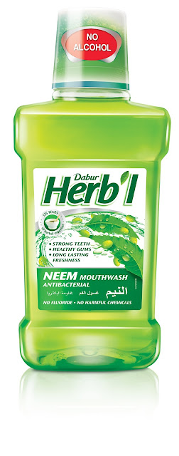 Product Review – Dabur Herb'l Neem Mouthwash