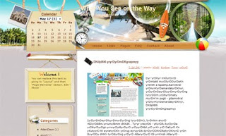 What You See on the Way Blogger Template