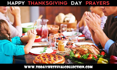 Happy Thanksgiving Day Prayer for Family and Friends