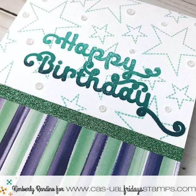 birthday card | cas-ual fridays stamps | papercraft | cardmaking | clear stamps | handmade | kimpletekreativity.blogspot.com