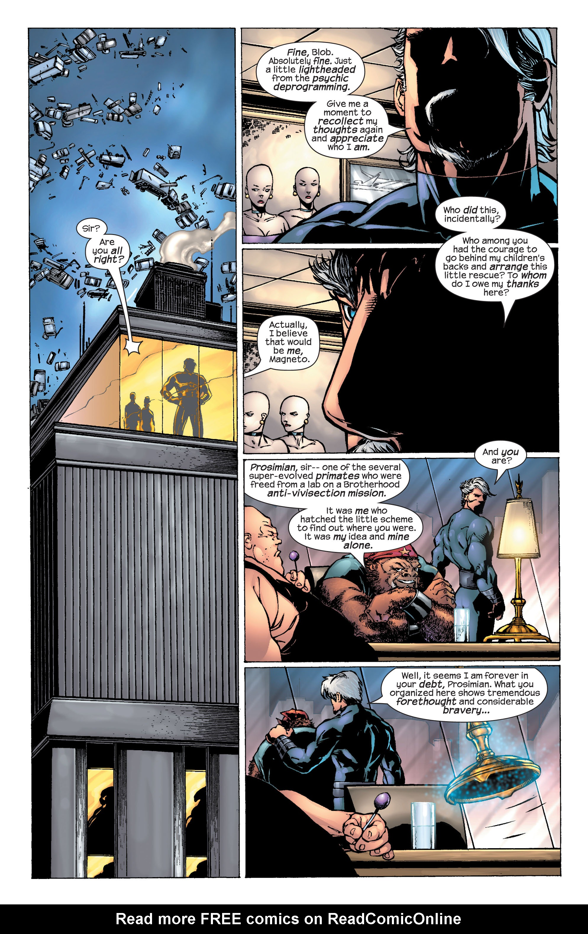 Read online Ultimate X-Men comic -  Issue #25 - 28