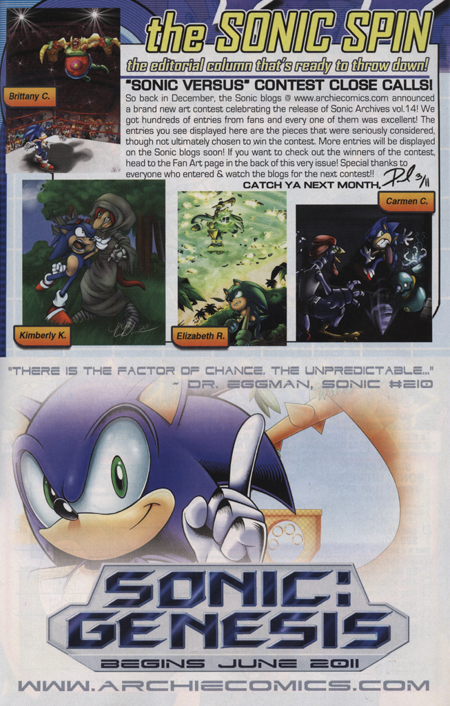 Read online Sonic The Hedgehog comic -  Issue #223 - 25