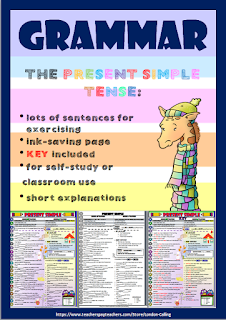 https://www.teacherspayteachers.com/Product/The-Present-Simple-Tense-2460063