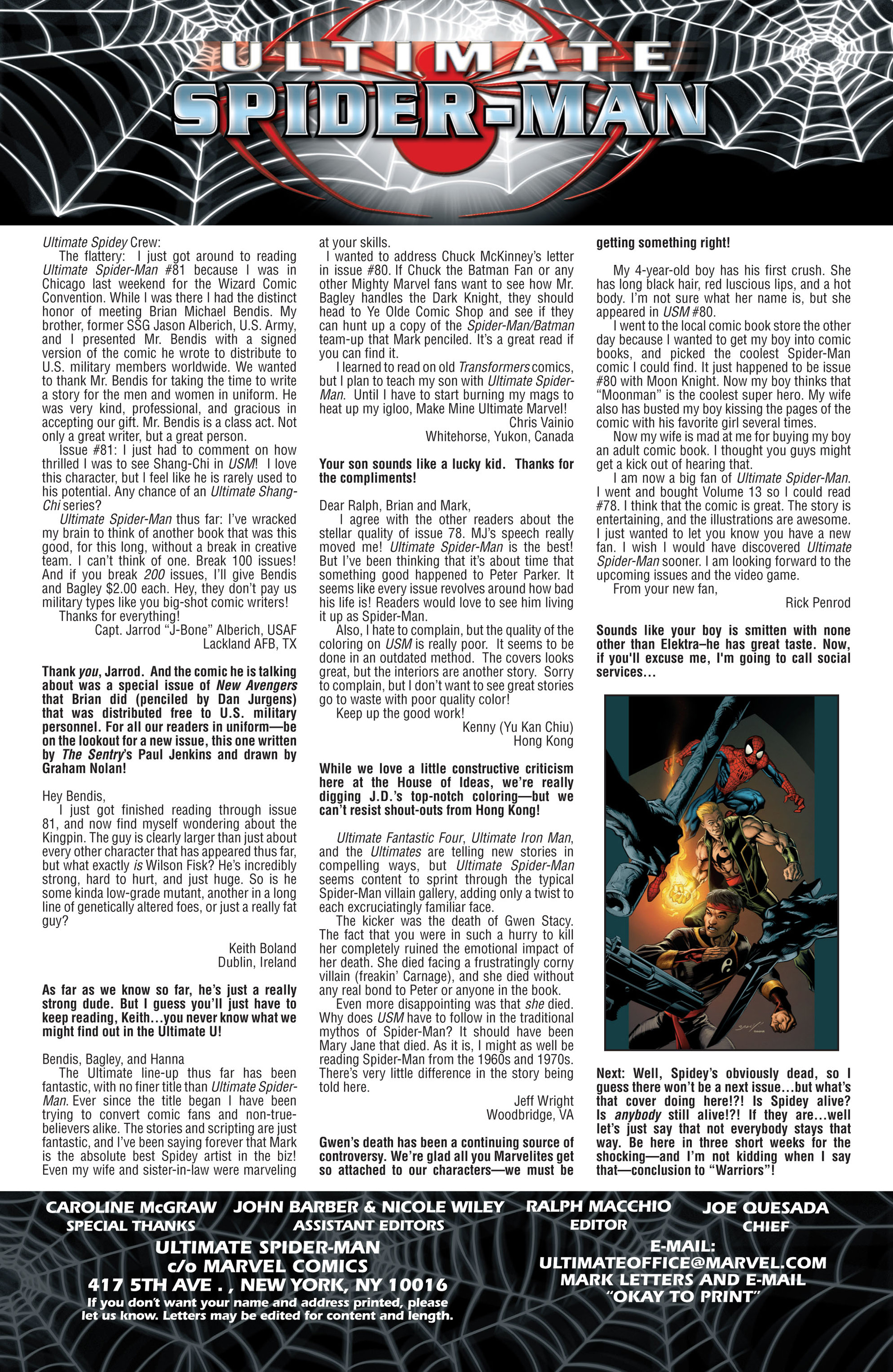 Read online Ultimate Spider-Man (2000) comic -  Issue #84 - 19