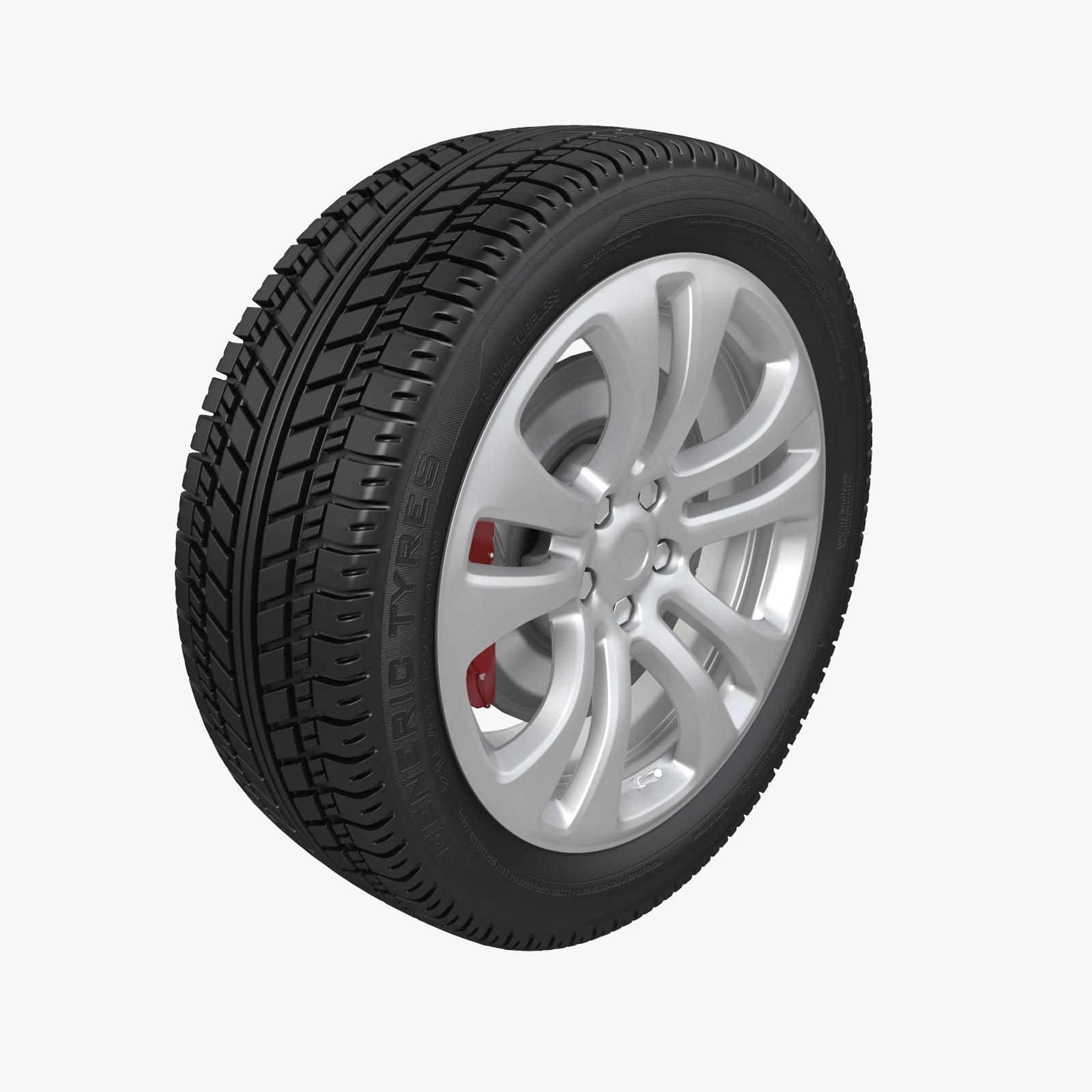 Купить 3D модель колеса