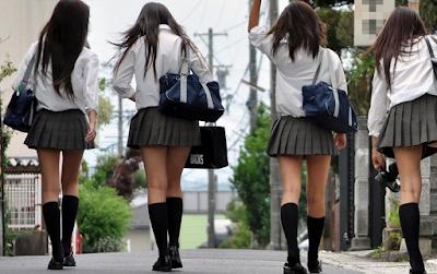 Siswi di Jepang Dilarang Pakai Celana Dalam