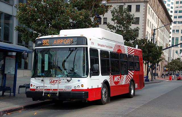 Dicas sobre transporte público em San Diego