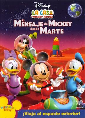 Mickey Mouse El.Viaje De Minnie A Marte 2016 DVD R4 NTSC Latino