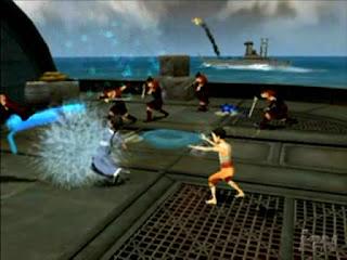 Avatar: Into the Inferno - PS2
