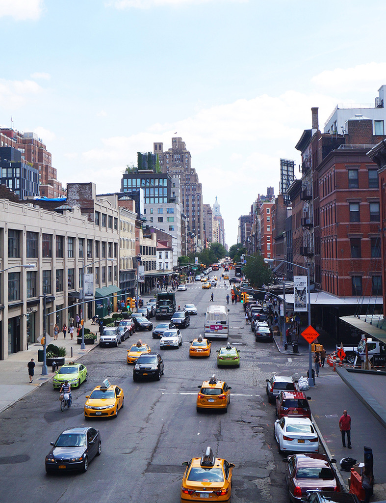Euriental | fashion & luxury travel | 3 days in New York City, view from Highline Park