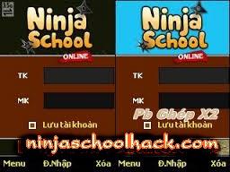 Ninja school ghep x2