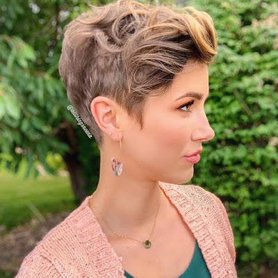 Shorter hairstyles became one of the must ✘ 21+ Amazing Short Hairstyles for Ladies with Fine Hair With Pixie Haircuts