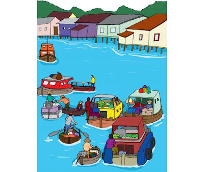 Pasar Tradisional Muara Kuin (Halaman 191)