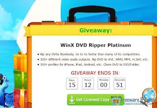 Giveaway WinX DVD Ripper Platinum gratuit pendant 15 jours !