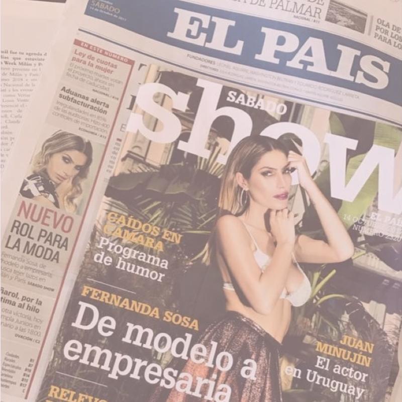 Fernanda Sosa on the media