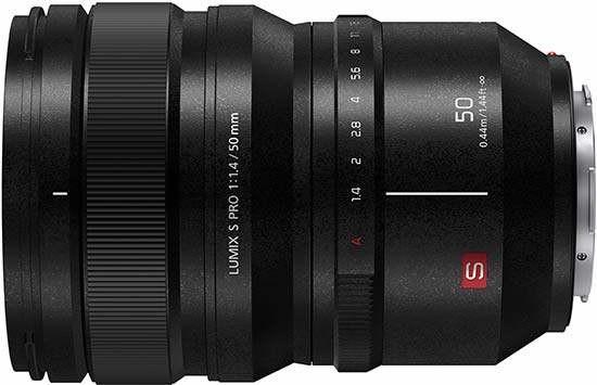 Объектив Panasonic Lumix S Pro 50mm f/1.4