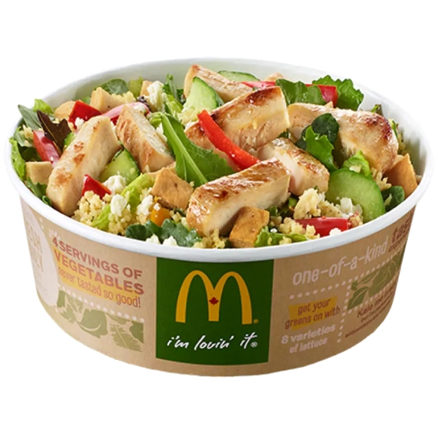 Van 507 enfermos por consumir ensaladas de McDonald's