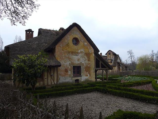 maisons du domaine de Marie-Antoinette