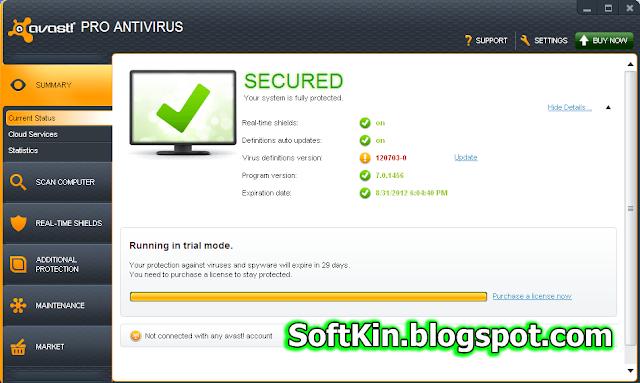 latest version of avast antivirus offline installer