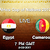 Cameroon Vs Egypt – Final CAN 2017